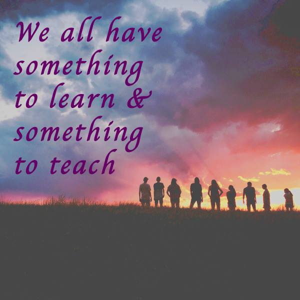 Teaching, learning, teamwork, together, community, family
