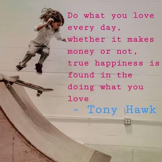 Skateboarding, tony hawk, little girl, practicing, do what you love
