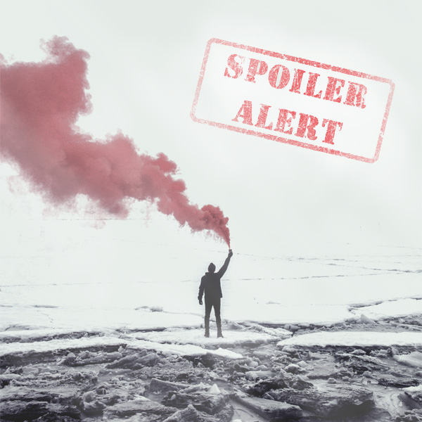 Spolier Alert, Man, Red Smoke, Beach, Quotes, Life philosophy