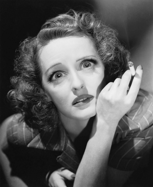 Bette Davis, eyes, staring, smoking, actress, stare down