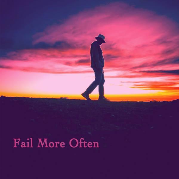 Cowboy, nice pink sundown sky, walking alone, singing, loneliness, break up