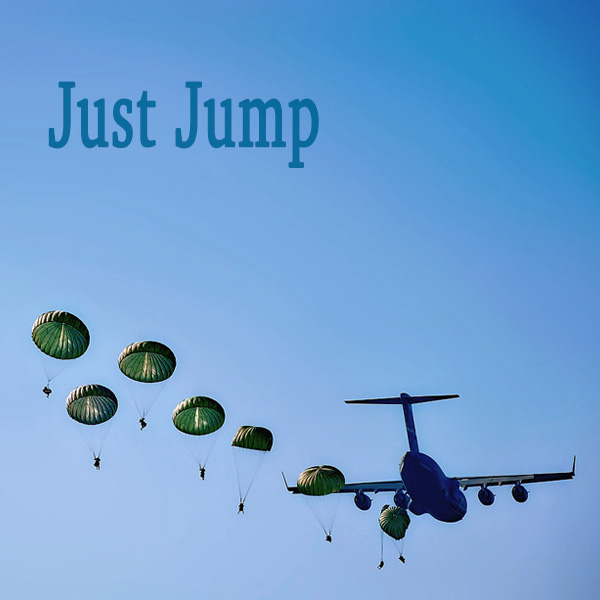 Airplane, military, jumping, parachute soldiers, quote, fleet
