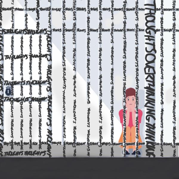 Prisoner, overhinking, jail, writers block