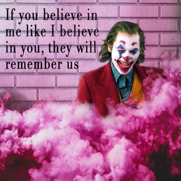 Clown, The Joker, Masks, Believe, Brick Wall, Pink Smoke