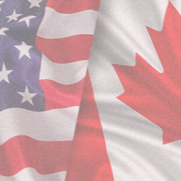 Flag, Mash up, Canada, America, Canadian, American, Heritage, Growing Up, Beliefs, Philosophy of life