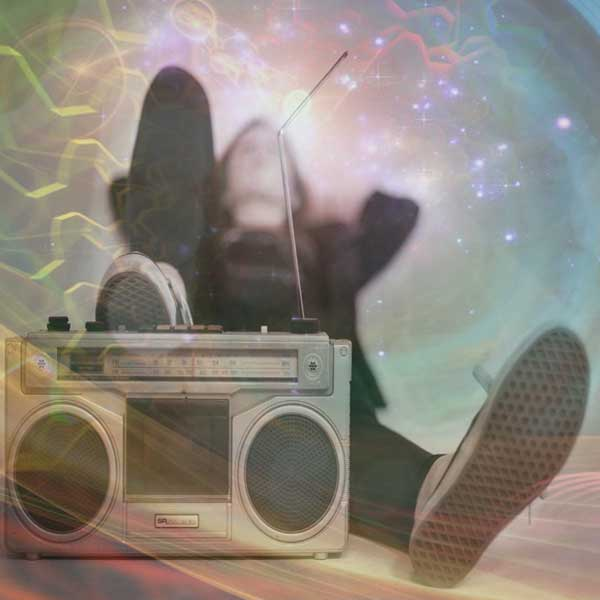 Radio, Person, Chilling, Frequency, Human Potential, Outer Space, Energy