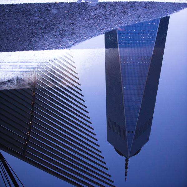 Puddle, World Trade Center Reflection