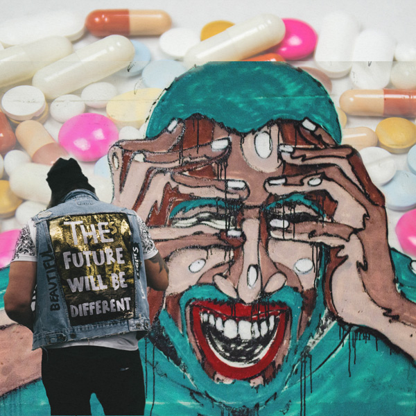 Drugs Graffiti wall