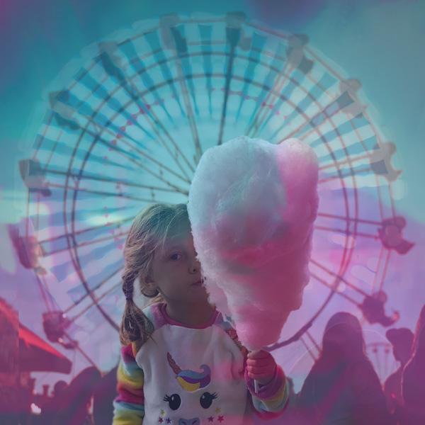 Fair, Vitality, Cotton Candy, Cute Kid