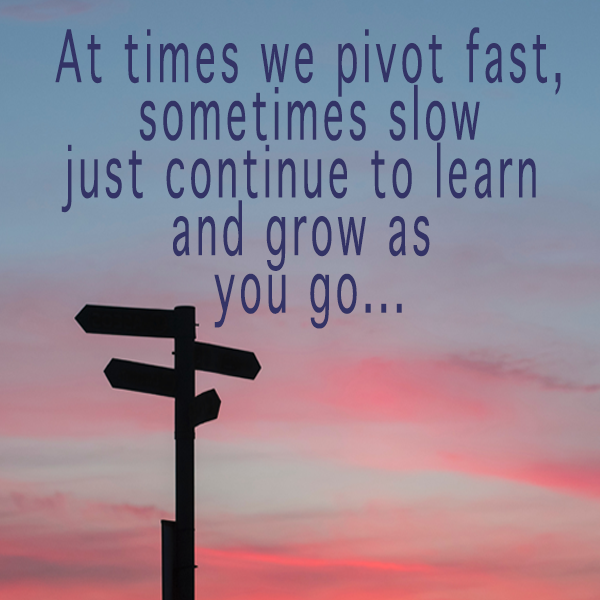 Pivot, Change, Business, Learning
