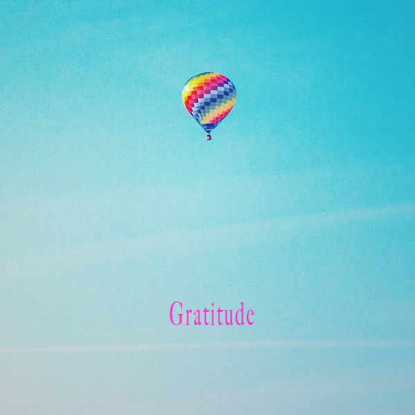 Gratitude Hot Air Balloon