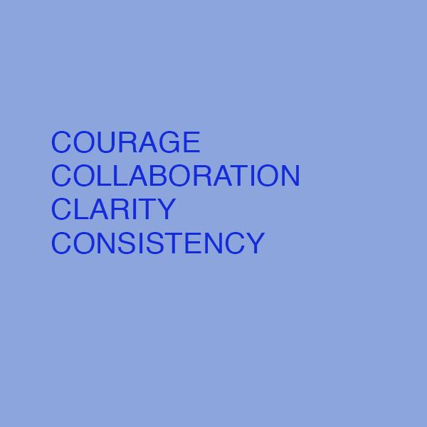 Values, Goals, JKL, Just Tries, Words