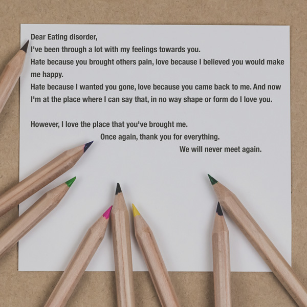 Poem, Pencils, Paper, Eating Disorder, Learning