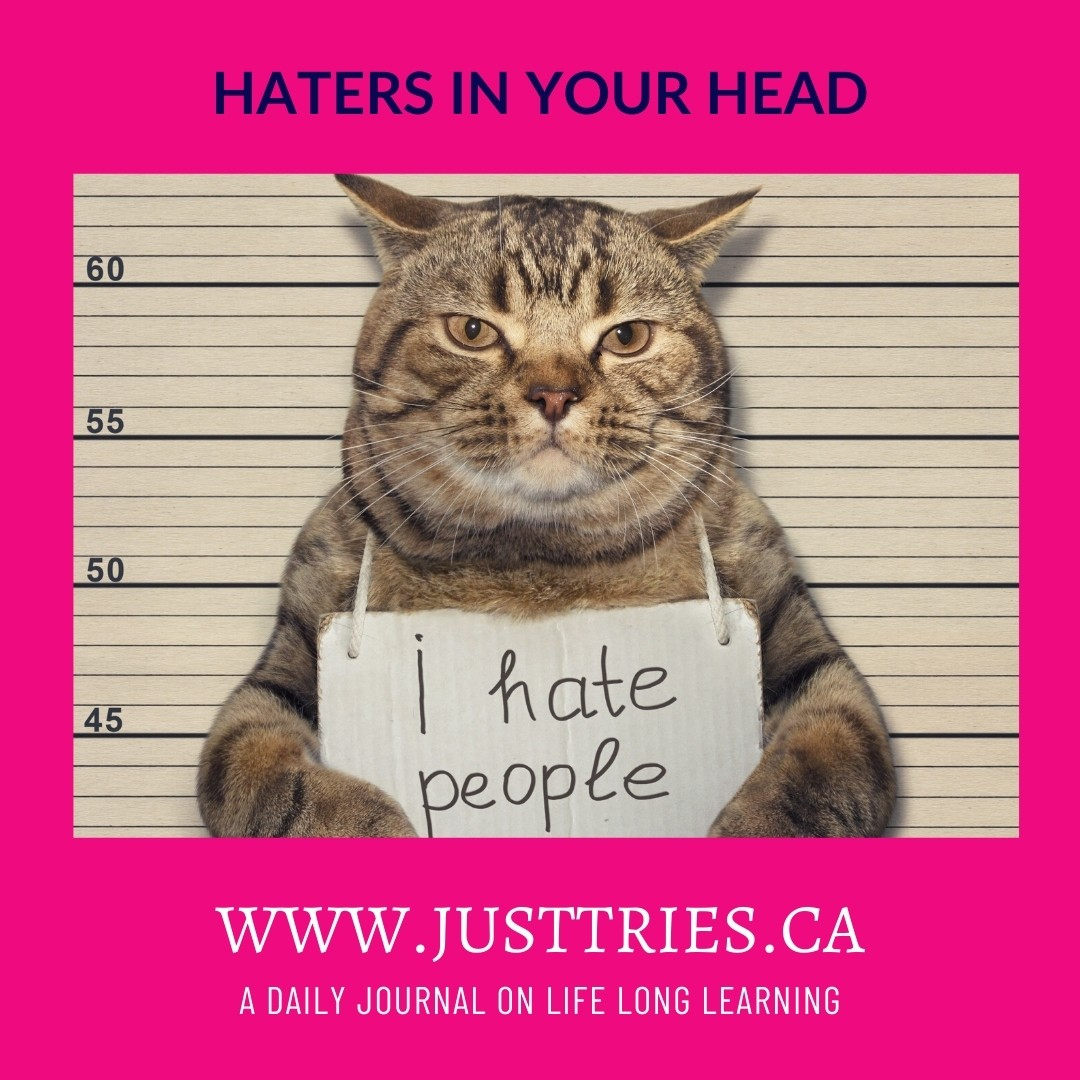 Haters In Your Head, Justtries