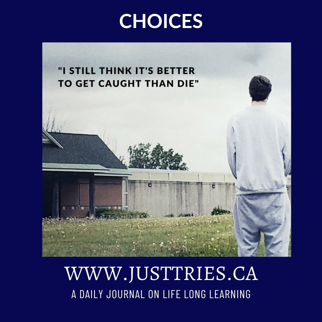 JustTries, Journal, Jail, Youth, Quote