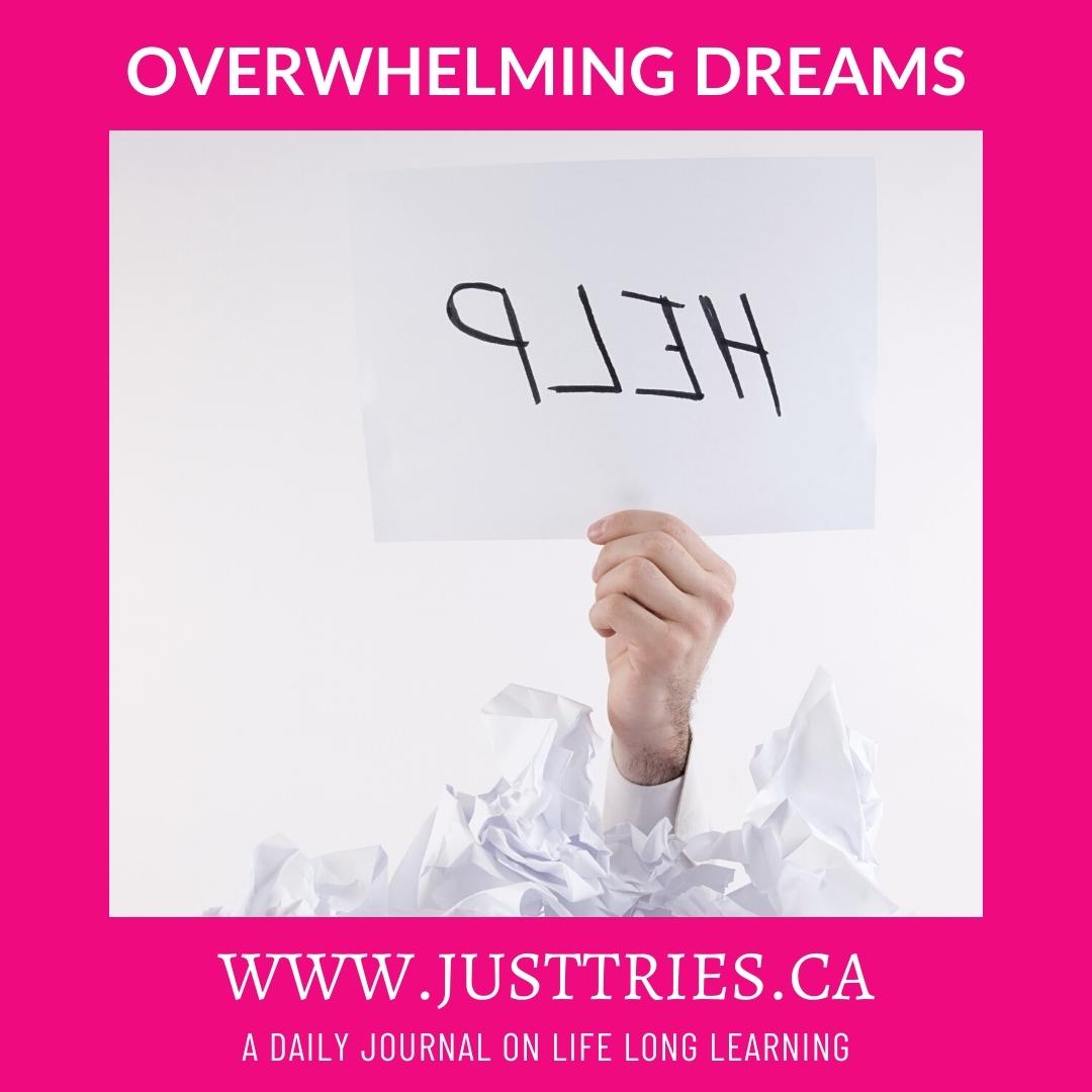 JustTries Journal, Dream Big